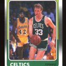 Larry Bird 1988-89 Fleer # 9 Boston Celtics Forward