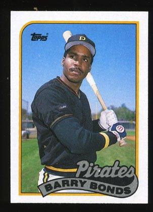 Barry Bonds, 1989 Topps Baseball # 620, Pirates