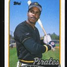 Barry Bonds, 1989 Topps Baseball # 620, Pirates