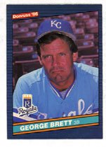 George Brett 1986 Donruss Baseball # 53 Kansas City Royals