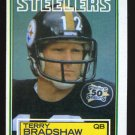 Terry Bradshaw 1983 Topps Football # 358 Pittsburg Steelers