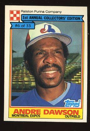 Andre Dawson 1984 Ralston Purina # 6 Of 33