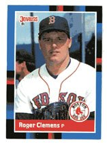 Roger Clemens 1988 Donruss # 51 Pitcher Boston Red Sox