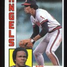 Rod Carew 1984 Topps # 600 First Base Angels