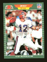 Jim Kelly 1989 Pro Set # 22 Quaterback Buffalo Bills
