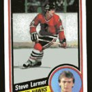 Steve Larmer 1984-85 Topps # 30 Right Wing Blackhawks