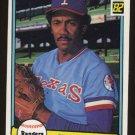 Fergie Jenkins 1982 Donruss # 643 Pitcher Texas Rangers HOF