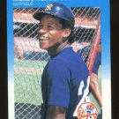 Rickey Henderson 1987 Fleer # 101 Outfield New York Yankees HOF
