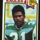 Wilbert Montgomery All Pro 1979 Topps # 85 Running Back Philadelphia Eagles