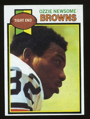 Ozzie Newsome Rookie 1979 Topps # 308 Tight End Cleveland Browns