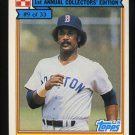 Jim Rice 1984 Ralston Purina # 9 Outfield Boston Red Sox