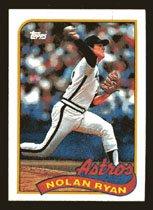 Nolan Ryan 1989 Topps # 530 Pitcher Texas Ranger