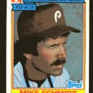 Mike Schmidt 1984 Ralston Purina # 22 Third Base Philadelphia Eagles