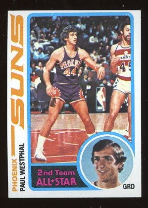 Paul Westphal 1978-79 Topps # 120 Guard Phoenix Suns