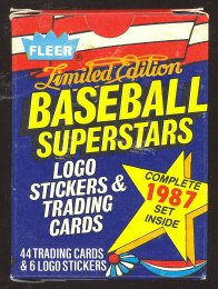 1987 Fleer Ltd Edition Baseball Superstars Set