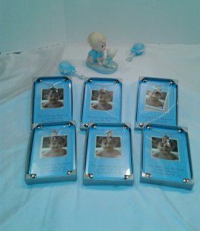 7 Mud Pie Baby Boy Star Chain Picture Frames