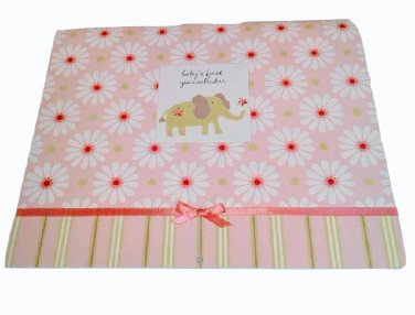 Carter's Pink Elephant First Year Memory Calendar