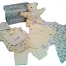 First Impressions Yellow Duckie Layette Trunk Set