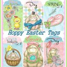 Hoppy Easter Tags - Digital Download Only