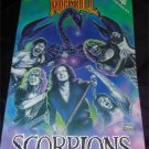 Vintage Rock Band Scorpions Comic  O.O.P Revolutionary comics