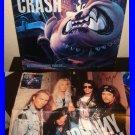 "Johnny Crash Neighborhood Threat 12"" Vinyl w/ Poster HEAVY METAL"