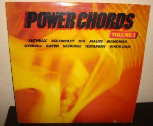 """Power Chords Vol.1 Heavy METAL compilation 12"""" Record"""