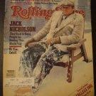Rolling Stone Magazine Jack Nicholson Cover