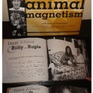Animal Magnetism- Celebrities  (Danny Elfman,Sara Gilbert etc) and their animals Hardcover Book