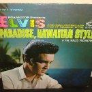 "Elvis Paradise,Hawaiian Style soundtrack lp RCA victor 12"" vinyl"