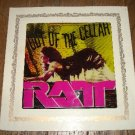 RATT Out Of The Cellar 80's Silkscreen Carnival Glass Frame Picture