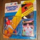1992 Starting Lineup Chris Sabo Cincinatti Reds figure card w/ poster
