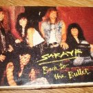 Saraya - Back to the Bullet Cassette single New Sealed