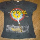 80's Vintage Extremely Rare STRYPER Soldiers Under Command  Concert Tour Shirt 1986 Christian Metal