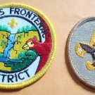 2 Boy Scout Patches