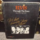 Elvis through the Years January 8, 1935-August 16, 1977 DeLuxe Souvenir Song Album