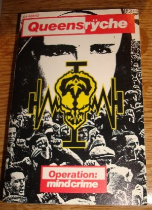 Queensryche-Operation Mindcrime Cassette FREE SHIPPING