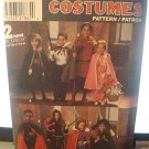 Simplicity 8272 Childs Costumes Cape , Robe,Tunic,headpieces Sewing Pattern