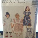 McCalls Childrens Girls Size CL 6,7,8 Dess and Pinafore Sewing Pattern 6403