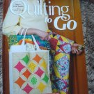 Quilting To Go by Jeanne Stauffer ,Sandra L. Hatch Hardcover Quilt Craft