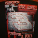 Dale Earnhardt Sr. - Tribute Concert racing Tshirt  (black) Double Sided