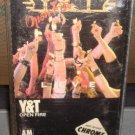 Y&T -Open Fire Audio Cassette 1985 Rock FREE SHIPPING