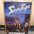 Savatage-Streets a Rock Opera Audio Cassette  Sealed New FREE SHIPPING
