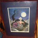 A VAMPIRE'S KISS by Dave Dorman and Lurene Haines Vampire Artwork Autographed SIGNED