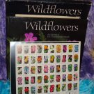 U.S. WILDFLOWERS Album and Sheet of 50 COMMEMORATIVE Postage STAMPS