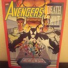 Avengers Death Trap The Vault  Oversize Graphic  1st Printing Marvel Comic