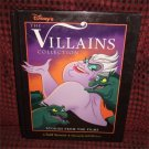 Disney's The Villians Collection Hardcover Beautiful Evil Character Illustrations