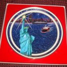 Royal Windsor Historical Society Joy to the World Statue of Liberty Christmas Plate Numbered