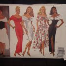 Misses Classic -Off Shoulder sleeveless Dress Butterick Pattern 6645 sz.6-12