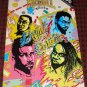 Living Colour band Rock n Roll Unathorized Biography comic book