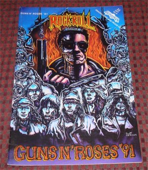 Guns N Roses '91 Rock N Roll Revolutionary Comic Book 1st printing